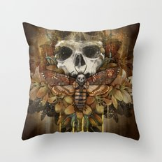 Silence of the Soul Throw Pillow