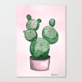 Candy Cactus Canvas Print