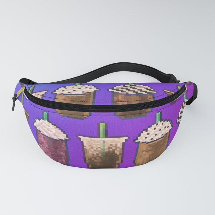 Cold Coffee Collage Fanny Pack