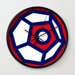 Dodecatron Wall Clock