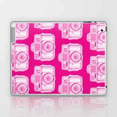 I Still Shoot Film Holga Logo - Reversed Pink Laptop & iPad Skin