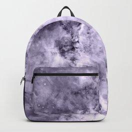 Lavender Gray Carina nEbULa Backpack