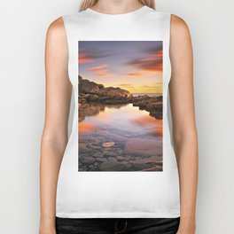 BEAUTIFUL SEASCAPE Biker Tank