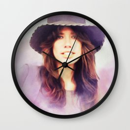 Carly Simon, Music Legend Wall Clock