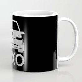 Citroen Saxo - silver - Coffee Mug