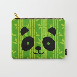 Evergreen Bamboos with Panda Carry-All Pouch