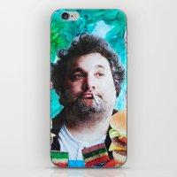 jessica lange iPhone & iPod Skins featuring Artie Lange by John Turck