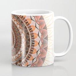 Ruby Peach Love ya Lots Boho Mandala Coffee Mug