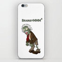 Zombie Einstein iPhone Skin