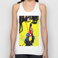 cycling Tank Tops featuring Cycling by lookiz