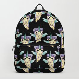 Pizza unicorn in the night Backpack