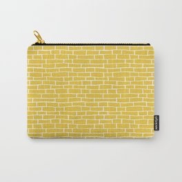 Brick Road - Yellow and white Carry-All Pouch