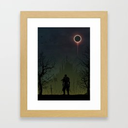 Dark Souls | Warriors Landscapes Serries Framed Art Print