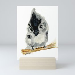 Judgy Little Bird Mini Art Print