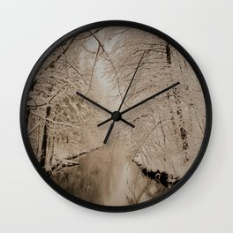 the winter is gone Wall Clock