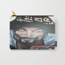 Snoop Dogg Fingerpainted Acrylic Painting Carry-All Pouch