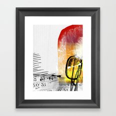 62 Framed Art Print