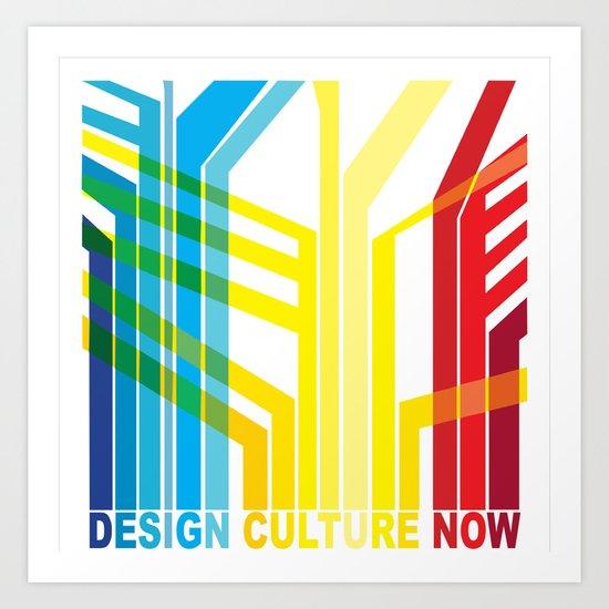 Design Culture Art Print