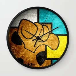 Mediocre Scooby Wall Clock