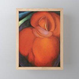 Georgia O'Keeffe Red Flower 1919 Framed Mini Art Print