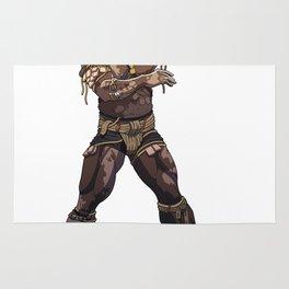 Senegalese wrestler Rug