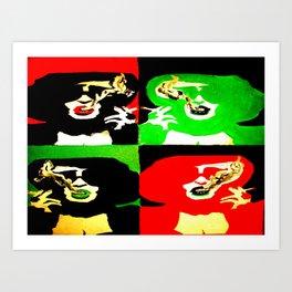 Marla Singer Fight Club Pop Art Painting Art Print