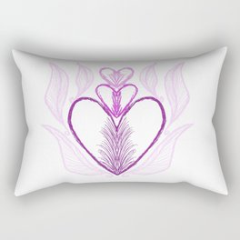 Fit for a Princess (Purple) Rectangular Pillow