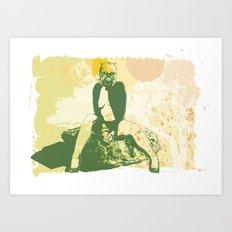 Tusken Layder Art Print