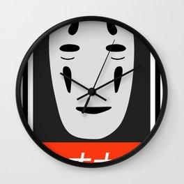 Faceless ghost Kaonashi Wall Clock