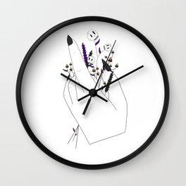 Handful of Candycorn Wall Clock