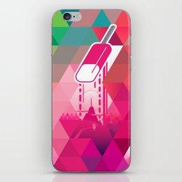 Raspberry Popsicle iPhone Skin