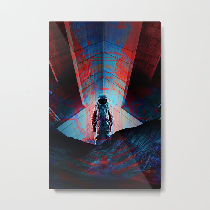 See you soon Space Cowboy Metal Print