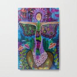 """Transformation"" Original painting by Toni Becker, Artfully Healing Metal Print"