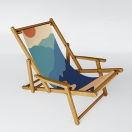 Mountains & River II Sling Chair