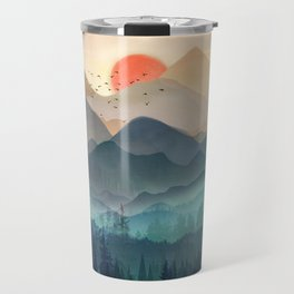 Wilderness Becomes Alive at Night Travel Mug