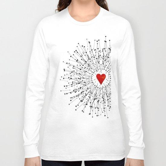 Heart&Arrows Long Sleeve T-shirt