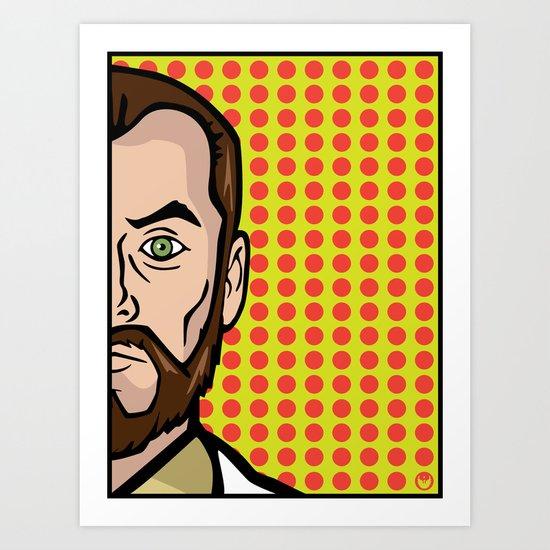 Dr. Krieger of ISIS Art Print