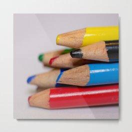 Pencils-3 Metal Print