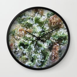 Lemon Girl Scout Cookies Strain Wall Clock