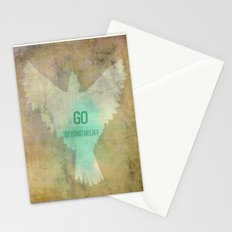 Go Beyond Belief Stationery Cards