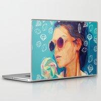 diamonds Laptop & iPad Skins featuring diamonds by manish mansinh