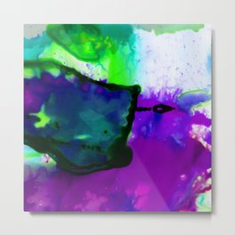 Abstract Bliss 4K by Kathy Morton Stanion Metal Print