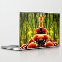 mushrooms Laptop & iPad Skins featuring mushrooms by haroulita