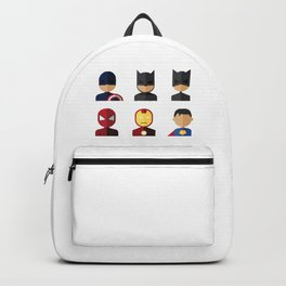All Time Crime Fighters Backpack