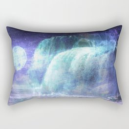 GC 18 Moon Waterfall Rectangular Pillow