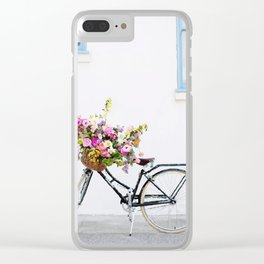 Bycicle Clear iPhone Case