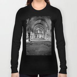 A derelict churh in Northern Cyprus Long Sleeve T-shirt