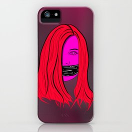 she's a good listener iPhone Case