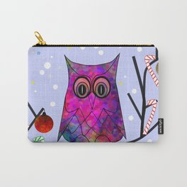 The Festive Owl Carry-All Pouch