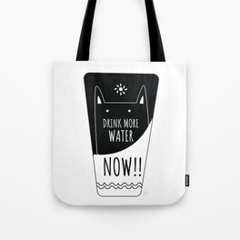 Caring cat Tote Bag